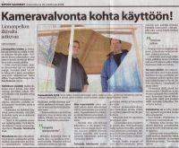 Sipoon Sanomat intervju