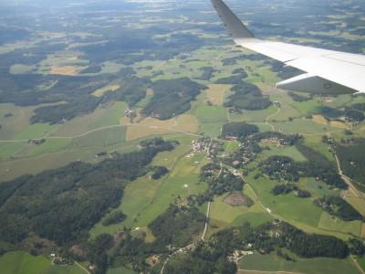 Borgby från ovan 1. Foto C Borgström