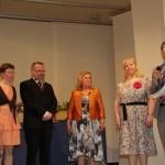 Utdelning av Nylands Svenska Ungdomsförbunds förtjänsttecken i brons