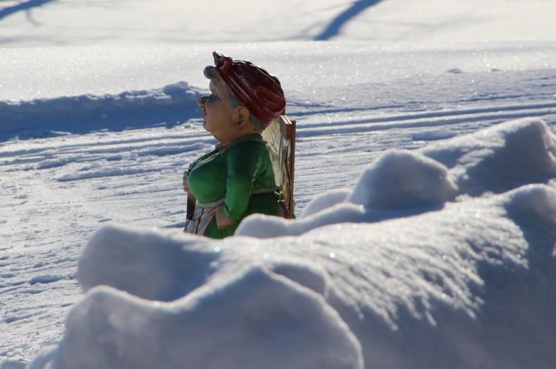 I år kan vi bara minnas fjolårets snömängder...
