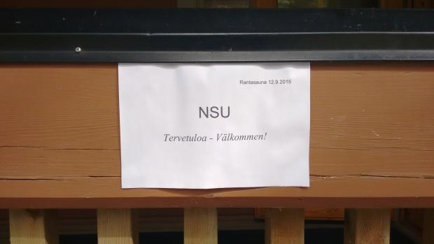 NSU Välkomnas till Rönnäs