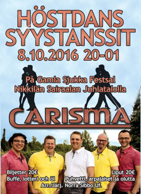 Höstdans 2016 Syystanssit